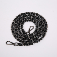 DIY Leather Handle For Bag Purse Metal Chain For Handbag Straps Replacement Parts Phone Cases