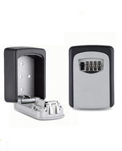 Wall Mount Key Storage Lock Box Holder 4 Digit Combination