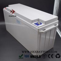 2KW Lithium Battery Pack 12.8V 150AH LiFePO4 Deep Cycle Free Maintenance OEM Customized ABS Case for Home Solar System