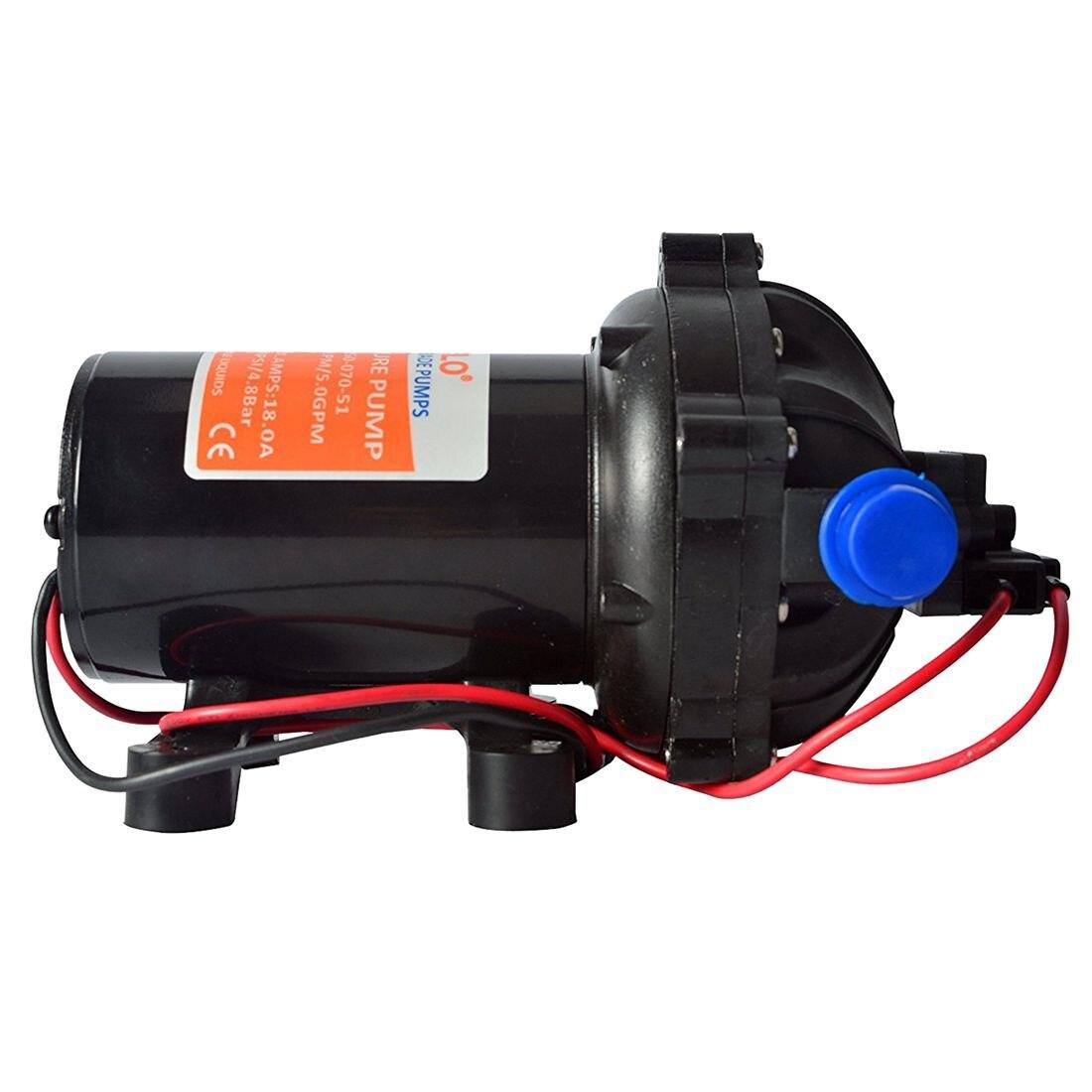 SEAFLO 12v Water Pressure Diaphragm Pump 18.9 L/min 5.0 Gpm 60 Psi - Caravan/RV/boat/marine water pump seaflo 35psi 12 5 lpm electric self priming diaphragm pump 12v water pumps caravan