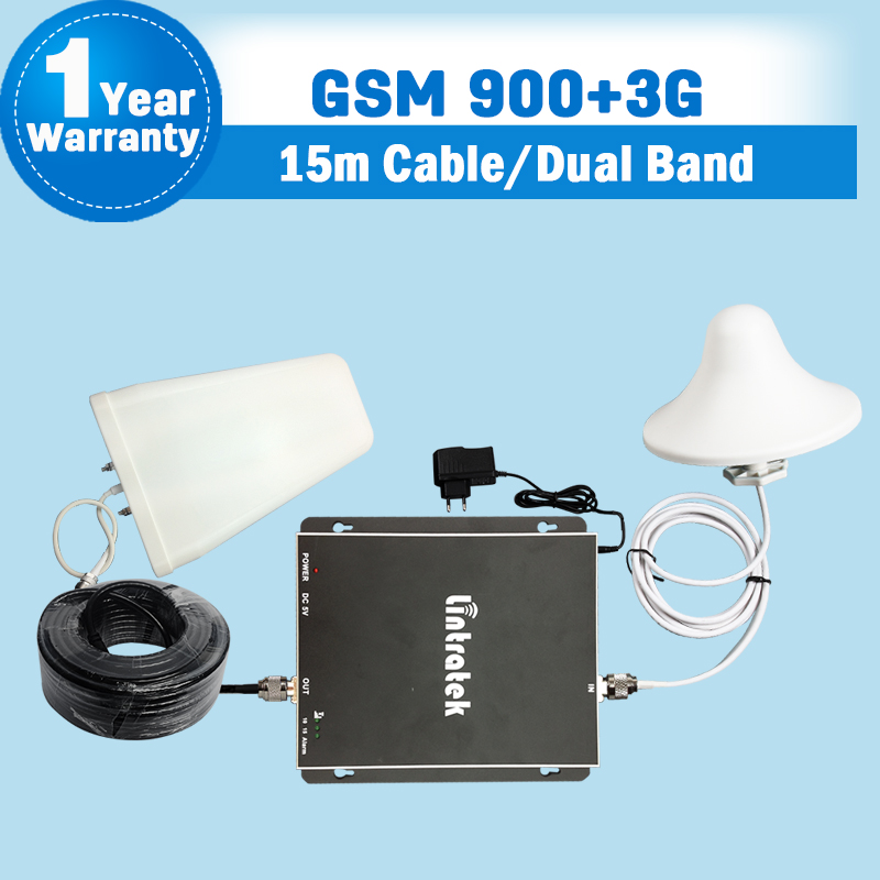 70dB GSM 900mhz 3G Repeater 2100mhz Dual Band Mobile Signal Repeater GSM 900 UMTS 2100 Cellular Cell Phone Amplifier Booster S15