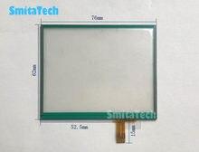 3.5 polegada 76*62 milímetros Tela Sensível Ao Toque Substituição Do Painel Digitador Da tela de Toque GPS Innolux PT035TN23 0358C para Dor toque