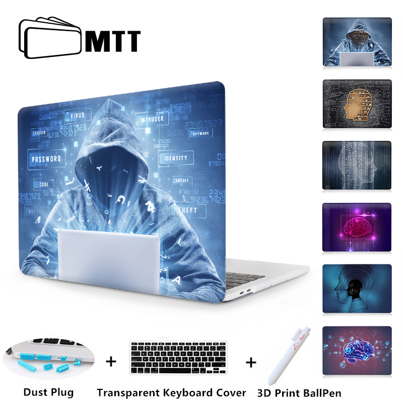 MTT Printed Case For Apple Macbook Pro Retina 12 13 15 Air 13 11 inch Laptop Sleeve for mac book Pro 13.3 inch A1706 CoverMTT Printed Case For Apple Macbook Pro Retina 12 13 15 Air 13 11 inch Laptop Sleeve for mac book Pro 13.3 inch A1706 Cover