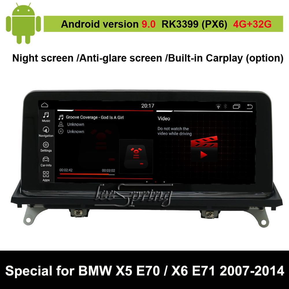 Android 9.0 Car Multimedia Player for <font><b>BMW</b></font> <font><b>X5</b></font> <font><b>E70</b></font> (2007-2013)/ for <font><b>BMW</b></font> X6 E71 (2007-2014) Auto GPS Navigation image