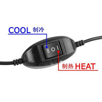 Vehemo USB Mini Cooler Warmer Frigorífico Resfriamento De Desktop Bebidas Soda Bebida Pode Branco