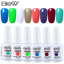 Elite99 8ML Nail Gel UV LED Gel Nail Polish Soak Off Semi Perment Gel Varnish Stamping Hybrid Gellak Lacquer Nail Gel Lucky Ink elite99 6 colors uv led soak off gel nail polishing set