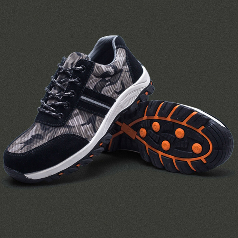 Smash and piercing safety protective shoes men shoes in Work Safety Boots from Shoes