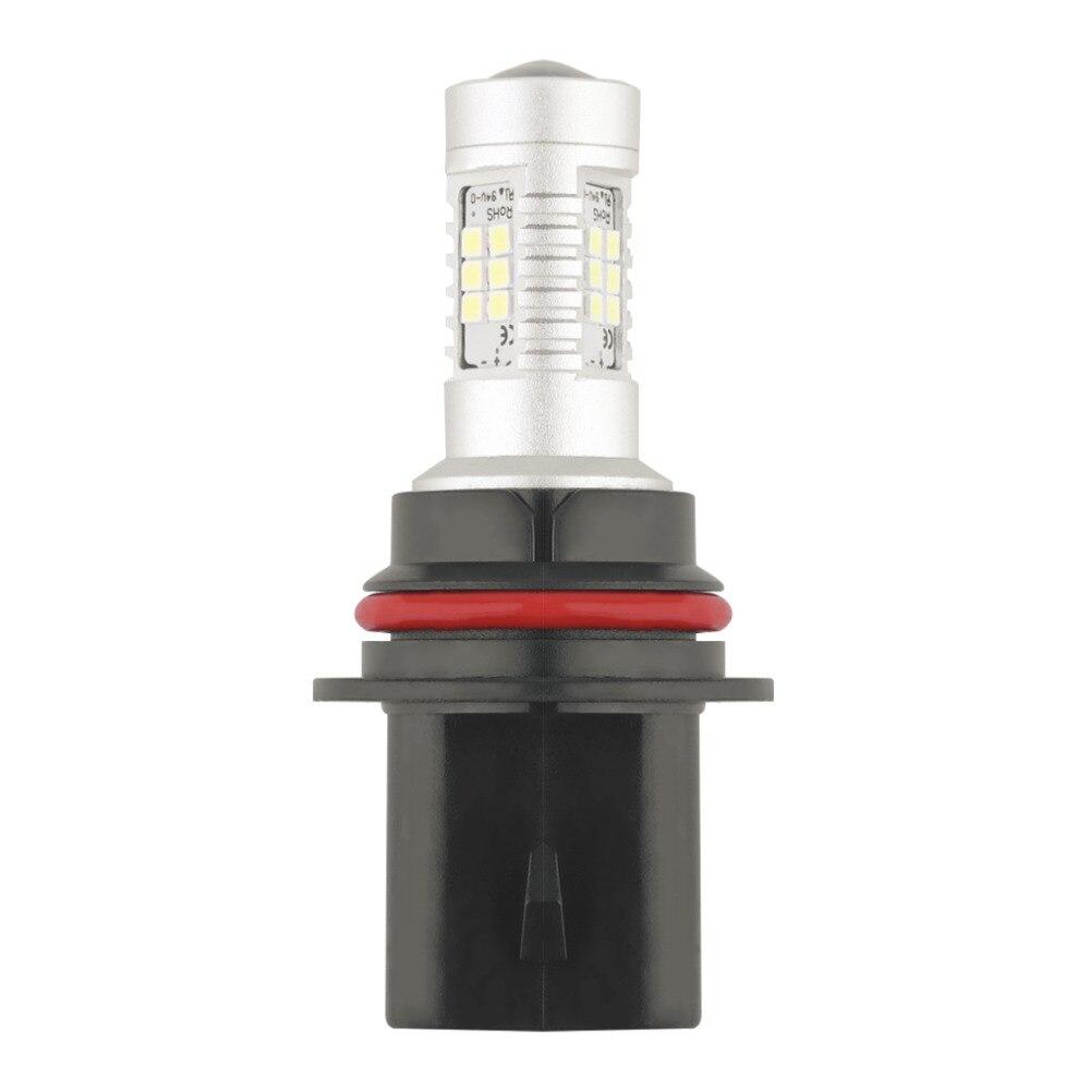1pc HID White High Power 9007 HB5 2835 SMD 21W LED Car Auto DRL Fog Lights Headlight Lamp Bulb DC12V Hot selling