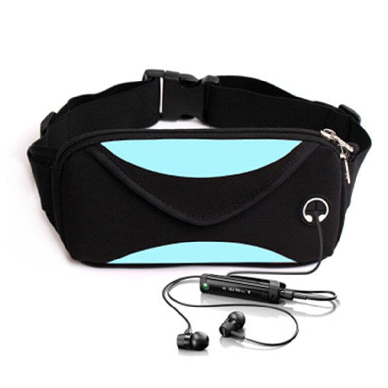 Sport Waist Pack Men Waterproof Fanny Pack Women Belt Bum Bag Waist Bag Male Phone Wallet Pouch Bags