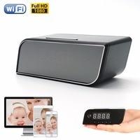 Remote Control Mini Camera Full HD 1080P Clock Camera Alarm Setting IR Night Vision Table Clock Camera Motion Detection Mini Cam