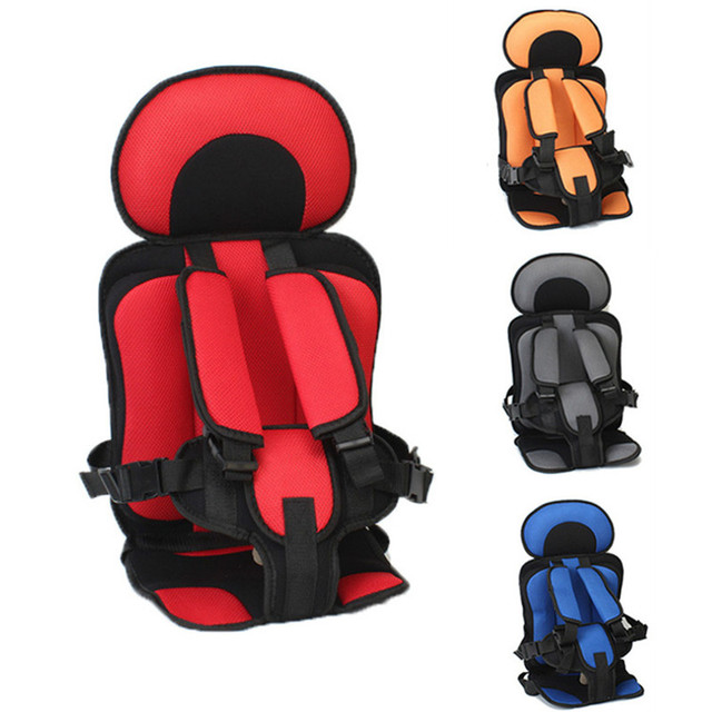 Baby Safe Chair Seat Mat Portable Toddler Seats Thickening Sponge Kids Stroller Seat Pad Shopping Cart Covers Car Back Mirror