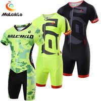 ทีม Pro ไตรกีฬาชายขี่จักรยาน Jersey Skinsuit Jumpsuit Maillot ขี่จักรยานเสื้อผ้า Ropa Ciclismo จักรยานวิ่งชุดกีฬา