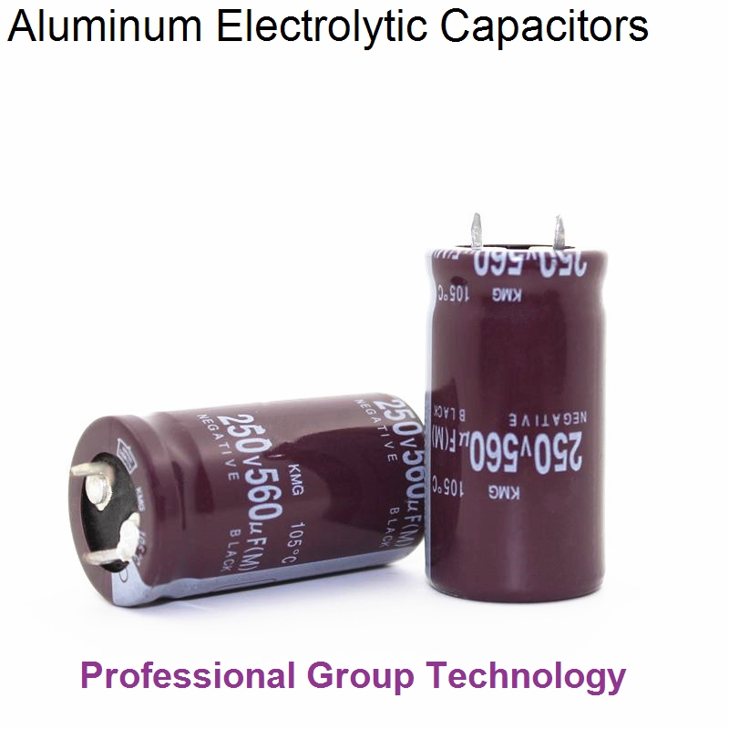 12pcs RE1 Good quality 250v560uf Radial DIP Aluminum Electrolytic Capacitors 250v 560uf  ...