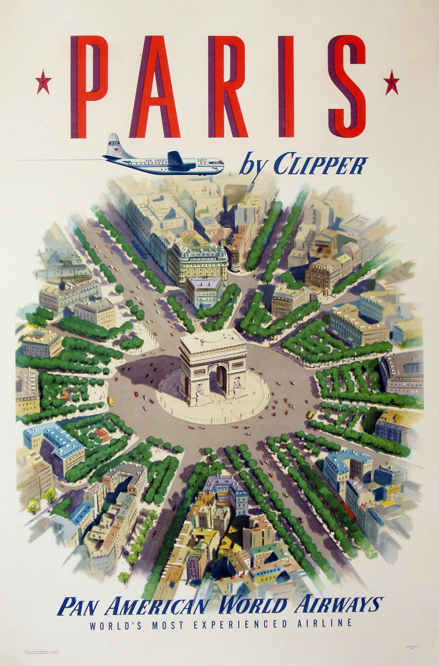 Online Get Cheap Paris Map Poster Aliexpresscom Alibaba Group - Us airways travel map