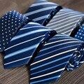 Sike cityraider nova marca listrado impressão laços para homens gravata azul dos homens Magros Gravata Corbatas 10 pçs/lote Modelo 27 Cores B041