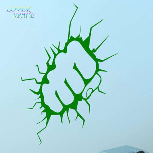 Kreativ UNGLAUBLICHE HULK Faust Abnehmbare Vinyl Wandkunst Aufkleber ...