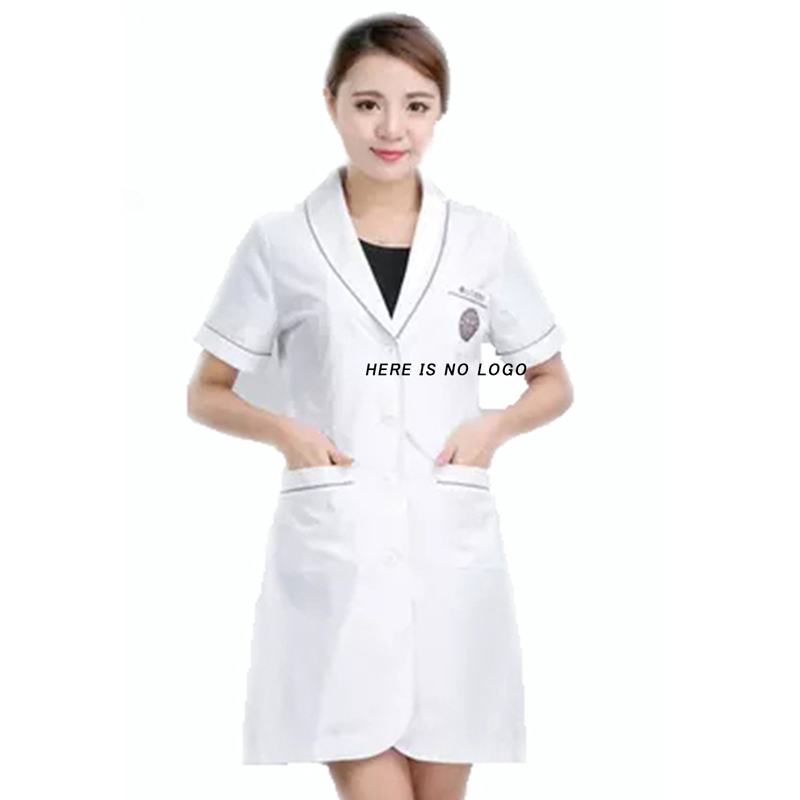 Work Wear uniforms Korean cosmetic surgery smock nurse medical and dental clinic hospital pharmacy doctor white overalls