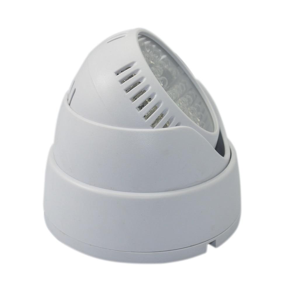 Купить с кэшбэком 1pcs 48 LED illuminator Light CCTV IR Infrared Night Vision  Surveillance Camera car safety