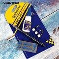 Jyrkior 3 в 1 для iPhone 6/6 S/7/8/8 Plus домашняя кнопка сенсорного ID отпечатков пальцев кабель для ремонта открывашка нож + клей + держатель набор инструм...