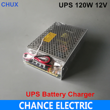 12V 10A ชาร์จประเภท Switching Power Supply UPS 120W แบตเตอรี่ CHARGING Current 0.5A Switching Power Supply 12V