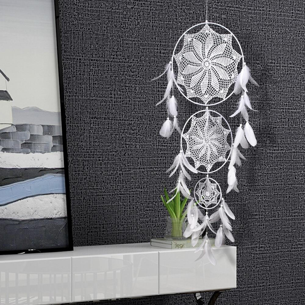 big dream catcher decor for home-nordic decoration home-kids room decoration-wind chimes-dream catchers hanging dreamcatcher new (43)
