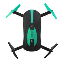 JY018 WiFi Pocket Drones FPV Quadcopter Mini Foldable RC Drones Camera HD Helicopter Kids Youth Adult Christmas Toy