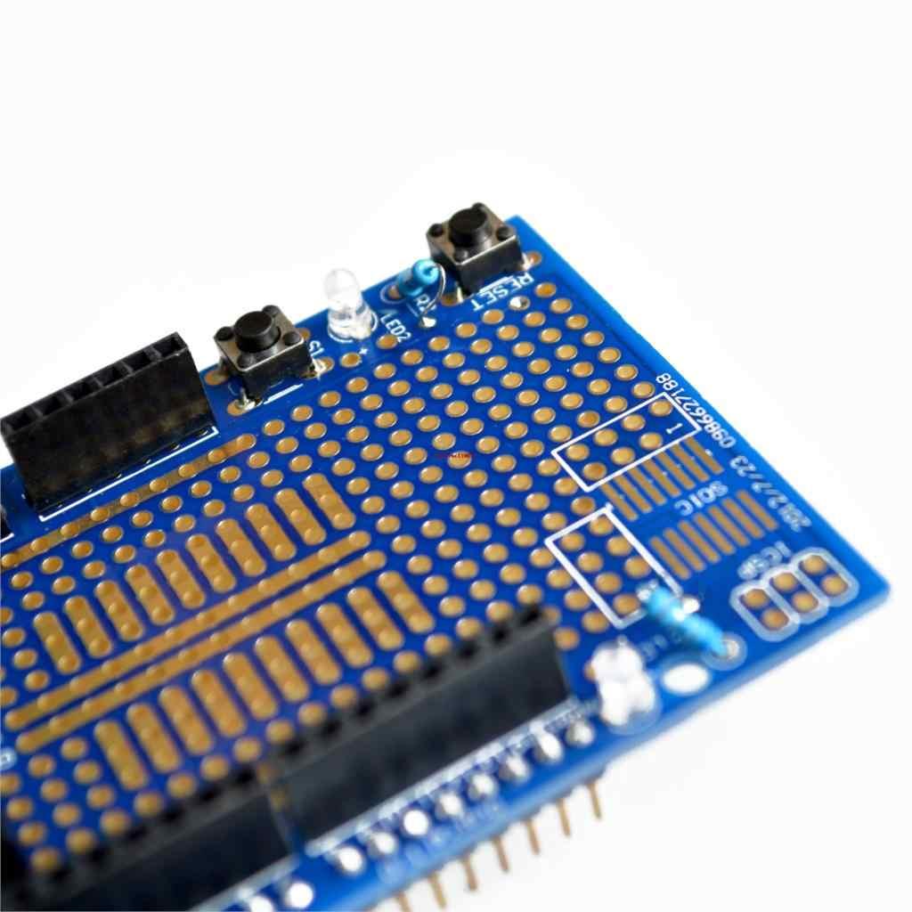 UNO Proto bouclier prototype carte d'extension avec SYB-170 mini platine de prototypage basé pour UNO ProtoShield