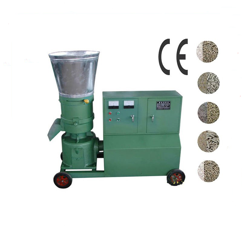 KL360C 22KW Pellet Press Animal Feed Wood Pellet Mill With Motor