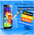Mobile Phone Real Tempered Glass For Samsung Galaxy S5 For 2015 A3 5 7 8 NOTE S 3 4 S5 6 i9600 Reinforced Front Screen Protector