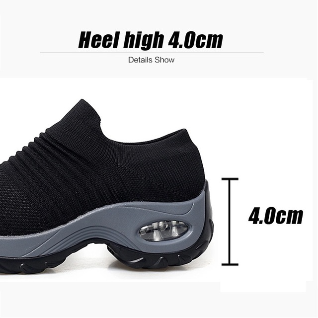 Women's Breathable Flat Platform Shoes