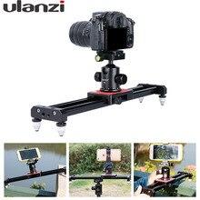 Ulanzi piortable камеры трек долли slider видео стабилизатор рельсовая система для nikon canon dslr для youtube блог фотографии фильм
