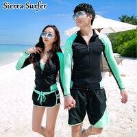 Rushguard Windsurf Rashgard Rashguard Women Female Korea Swimwear 2018 Couples Long Sleeve Surf Bathing Suit Mr