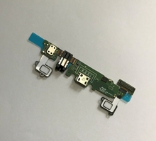 5 ピース/ロットサムスンギャラクシー A8 A8000 A800F USB 充電器ドックフレックスケーブル交換部品