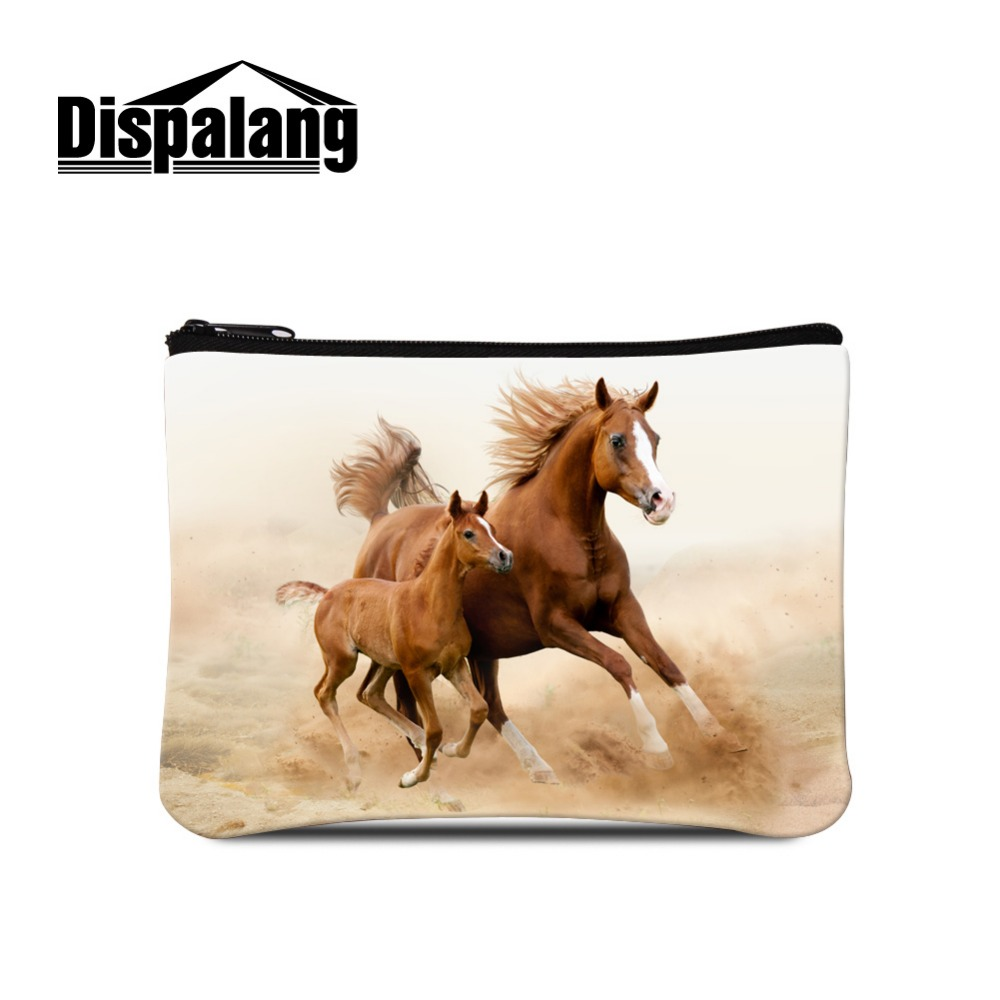 Dispalang Crazy Horse Animal Small Change Purse Women Makeup Buggy Bag Pouch Holder Mini Coin Bag For Children Casual Clutch Bag Coin Purses Luggage & Bags