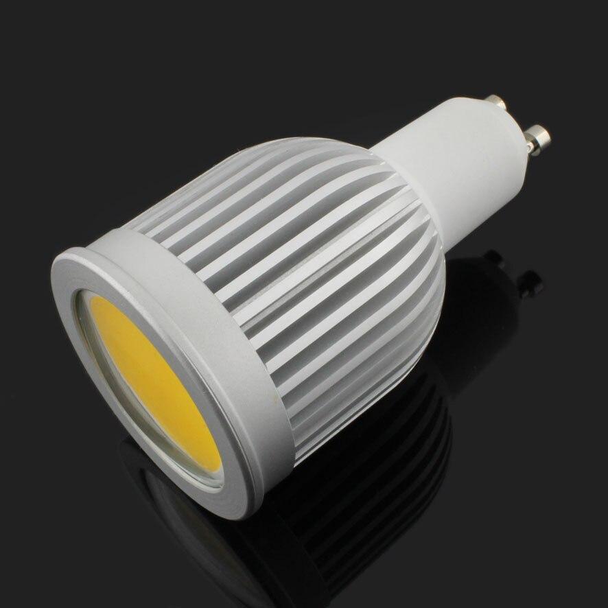 30 pcs/lot 85 265V GU10 E27 MR16 GU5.3 E14 7w 9W COB LED Spot ampoules lampe blanc chaud/blanc froid haute luminosité 4300k - 3