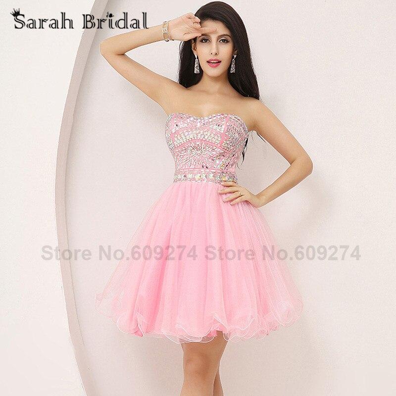 Excepcional Vestidos Rosados ??cortos Para Prom Regalo - Ideas de ...