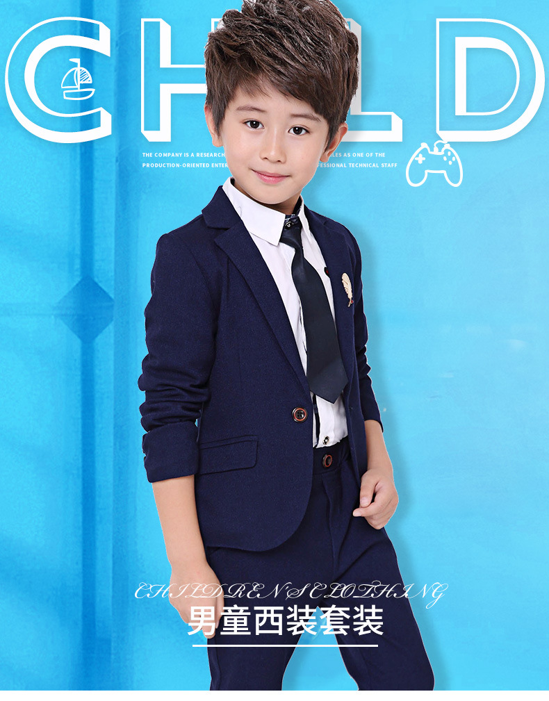 Aliexpress.com : Buy formal dress kids Slim Baby Suits 100% quality ...