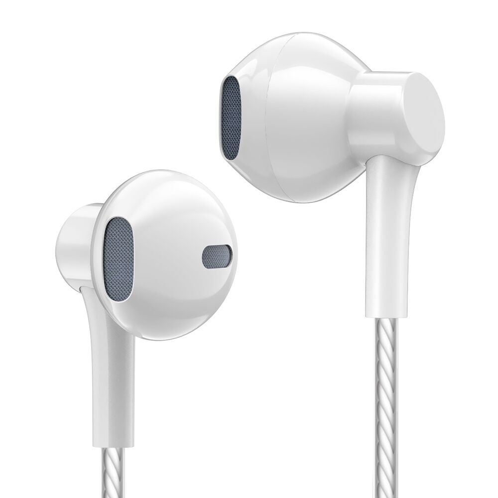 New Earphone Bass Sound Good Low Price High Quality With Mic Handsfree Headset For Phones Iphone Apple 5 5s 6 6s Plus image