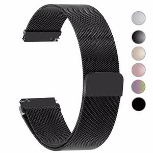 Geekthink Watch Bands Strap Stainless Steel Gear S3 24mm