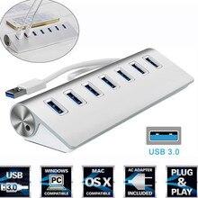 High Speed 7 Port USB 3.0 Hub USB Port HUB USB Splitter for Macbook Air PC Laptop
