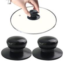 Кастрюля Крышка для чайника ручка черная крышка ручка запасной горшок часть кухонная посуда кухонные принадлежности Инструменты Cocina