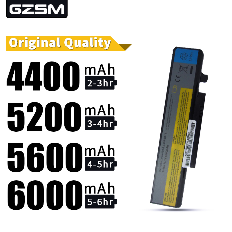 HSW New  Laptop Battery For LENOVO L09N6D16 L09S6D16 L10L6Y01 L10L6Y01 L10N6Y01 L10S6Y01 Battery Y460 Y560 B560 V560   Battery