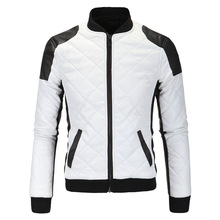Fashion Men Autumn Winter Leather jacket Brand Design Popular PU Leather Coats Casual Parka Men's Clothing Baseball coat XY210