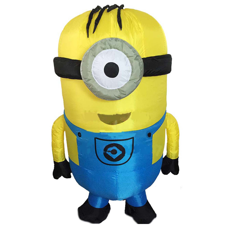 Purim Carnival Parade Costumes Minions Inflatable Adult Fancy Dress Costumey for Halloween party event