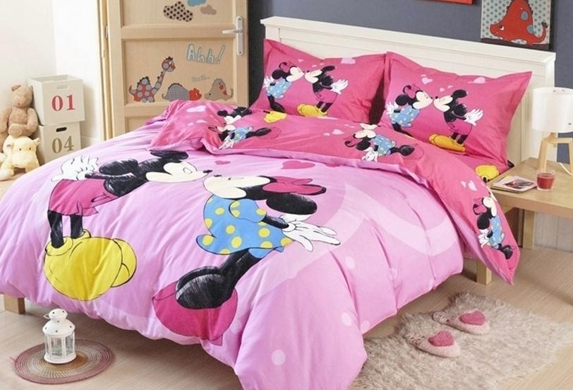 Free Shipping 100 Cotton Kids Bed Set Kiss Bed Sheets