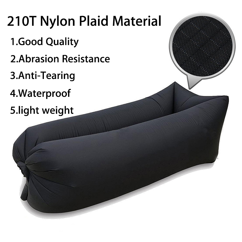 High Quality 210T Nylon Inflatable Sofa Hangout Camping