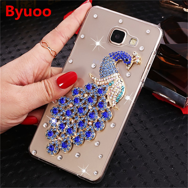 3D Bling phone Case For Samsung <font><b>Galaxy</b></font> S6 S7 Edge S10 S8 S9 J4 J6 A6 A8 Plus A7 A9 2018 Note <font><b>9</b></font> 8 M10 M20 A50 A70 A10 A20 <font><b>S</b></font> Cover image