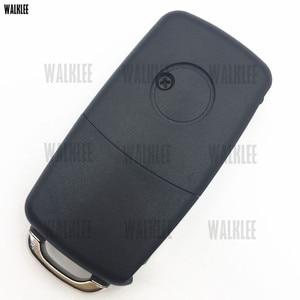 Image 3 - WALKLEE 1J0 959 753 CT 1J0959753CT Chiave A Distanza vestito per VW/VOLKSWAGEN Bora Polo Golf MK4 Transporter 434 MHz con il Circuito Integrato ID48