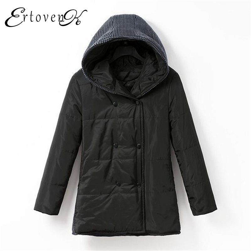 Plus size Women Cotton Coat Winter New 2017 Hot Thick parkas Warm Hooded overcoat Female Outerwear jaqueta feminina inverno C190 women winter coat leisure big yards hooded fur collar jacket thick warm cotton parkas new style female students overcoat ok238