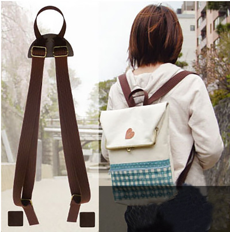 Osmond Backpack Straps DIY Replacement Shoulder Belts Bag Accessories Parts Rucksack  Bag Strap Black Brown Beige 33d7e5bd4157c